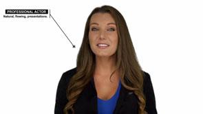 White Screen Presenter Explainer