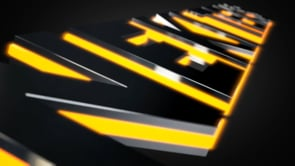 Extruded LED Titles Intro