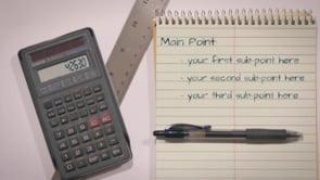 Notebook Calculations