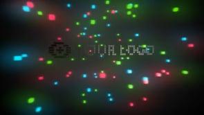 Pixelated 3D Logo