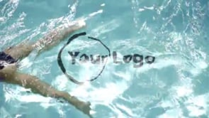 Pool Logo Girl Swimming