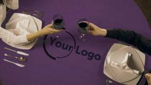 Restaurant Couple Table Logo