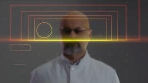 Scientist Finger Tap Hologram