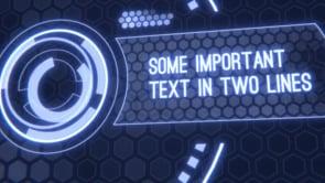 Scifi Interface Intro