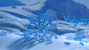 Snowflake Title Intro