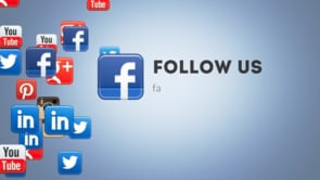 Social Icons Floating Facebook