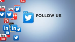 Social Icons Floating Twitter