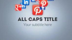 Social Icons Vortex Pinterest