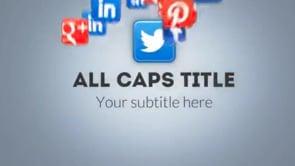 Social Icons Vortex Twitter