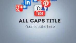 Social Icons Vortex Youtube