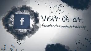 Social Ink Splatter Facebook
