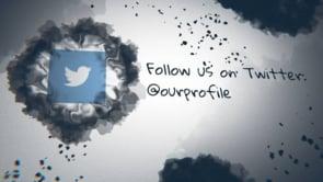 Social Ink Splatter Twitter