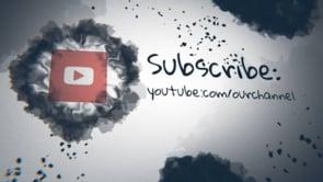 Social Ink Splatter Youtube