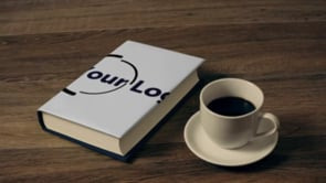 Thick Book and Coffee 2