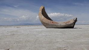 Dry Land Broken Structure